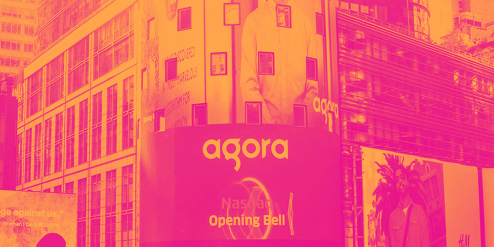 Reflecting On Software Development Stocks' Q2 Earnings: Agora (NASDAQ:API) Cover Image