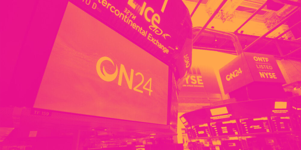 ON24 (NYSE:ONTF) Beats Q2 Sales Targets But Stock Drops 11% Cover Image