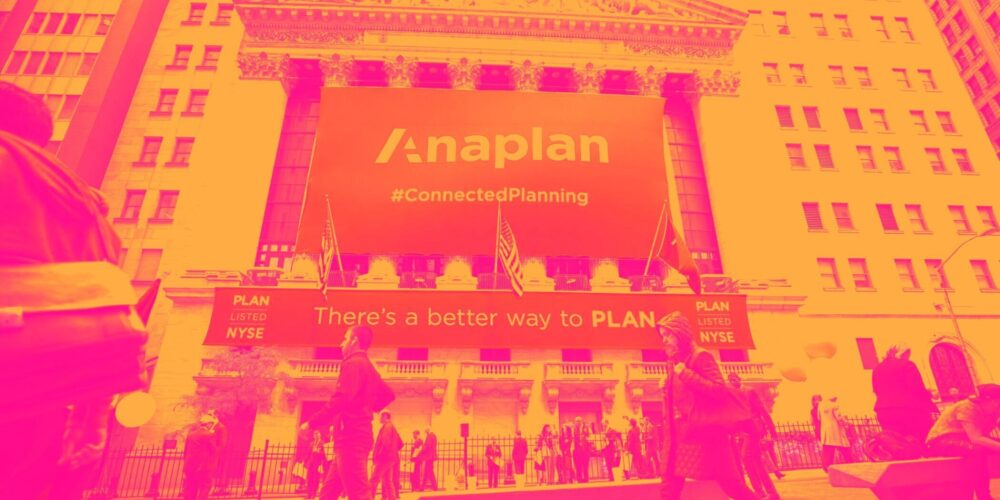 Anaplan (NYSE:PLAN) Surprises With Q2 Sales, Stock Jumps 15.8% Cover Image