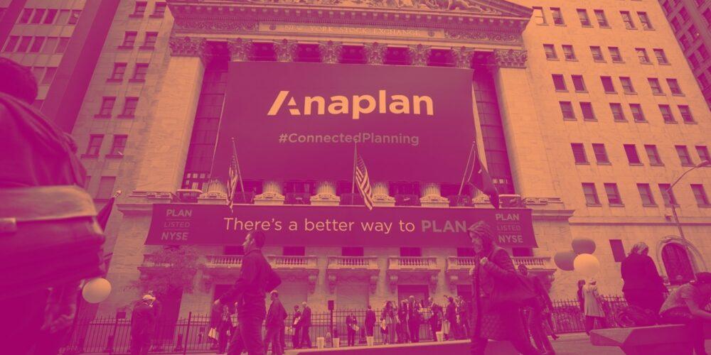 Anaplan (NYSE:PLAN) Q1: Executes On Plan, Beats Sales Estimates Cover Image