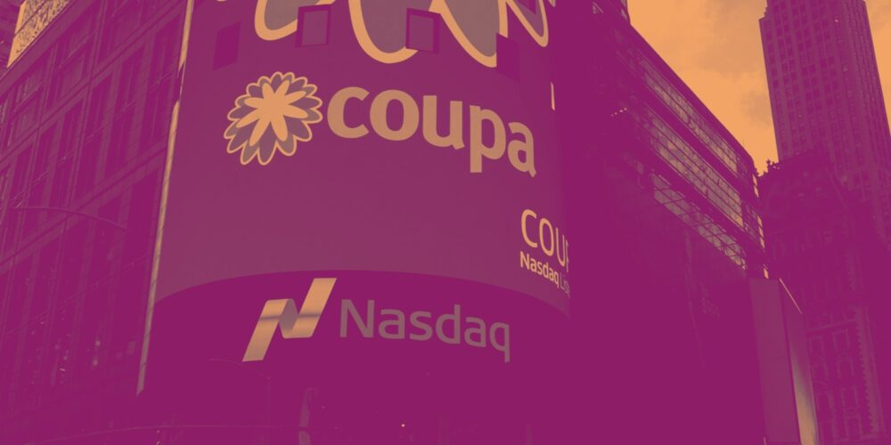 Coupa Software (NASDAQ:COUP) Reports Upbeat Q1, But Gross Margin Stays Low Cover Image