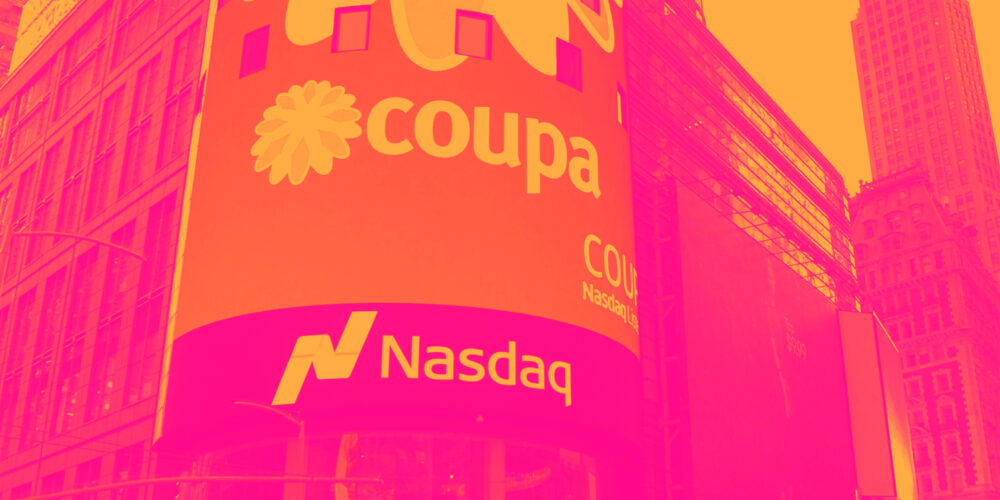 Reflecting On Finance and HR Software Stocks' Q2 Earnings: Coupa Software (NASDAQ:COUP) Cover Image