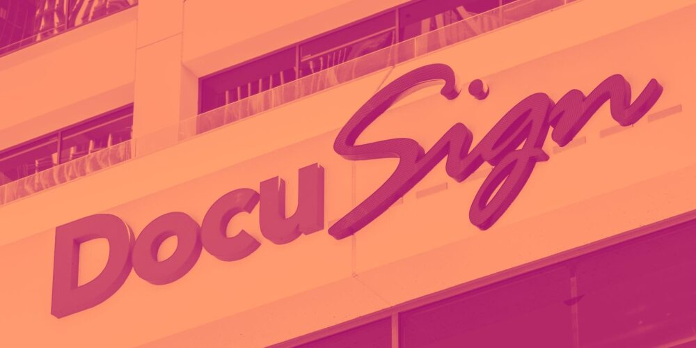 DocuSign (NASDAQ:DOCU) Q1: Strong Beat On Sales, Upgrades Full Year Guidance Cover Image