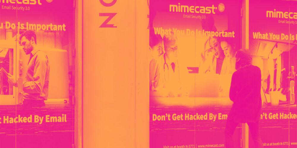 Cybersecurity Stocks Q2 Recap: Benchmarking Mimecast (NASDAQ:MIME) Cover Image