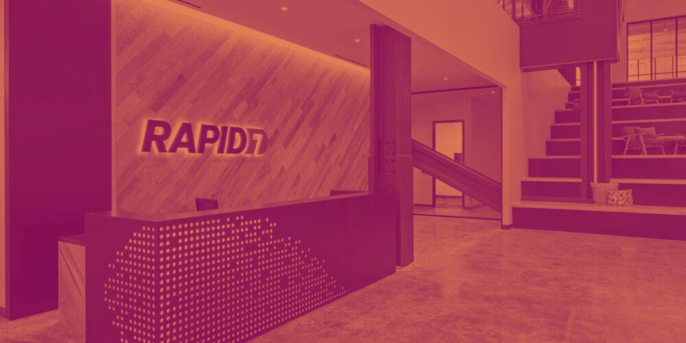 Rapid7 (NASDAQ:RPD) Beats Q1 Sales Targets, Upgrades Full Year Guidance Cover Image