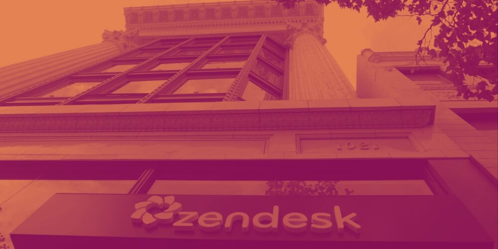 Zendesk (NYSE:ZEN) Q1 Sales Beat Estimates, Next Quarter Growth Looks Positive Cover Image