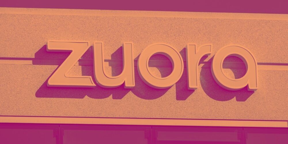 Zuora (NYSE:ZUO) Beats Q1 Sales Targets, Next Quarter Sales Guidance Is Optimistic Cover Image